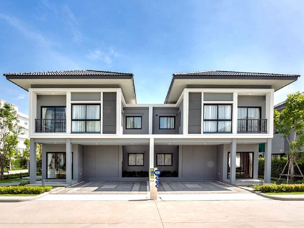 บ้านแบบคู่แฝด