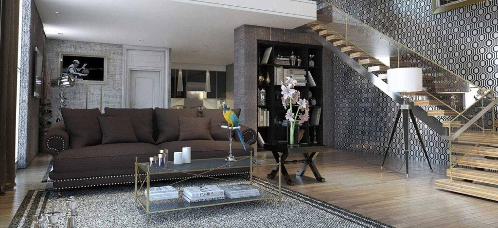 รูปแบบของสไตล์ modern luxury